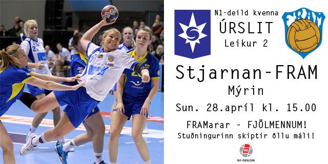 Stjarnan-Fram - Úrslit 2 - 280413