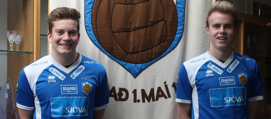 Arnór og Andri Þór vefur