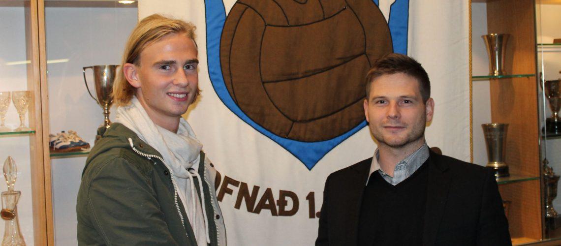 Bjarni og Ásgeir vefur betri