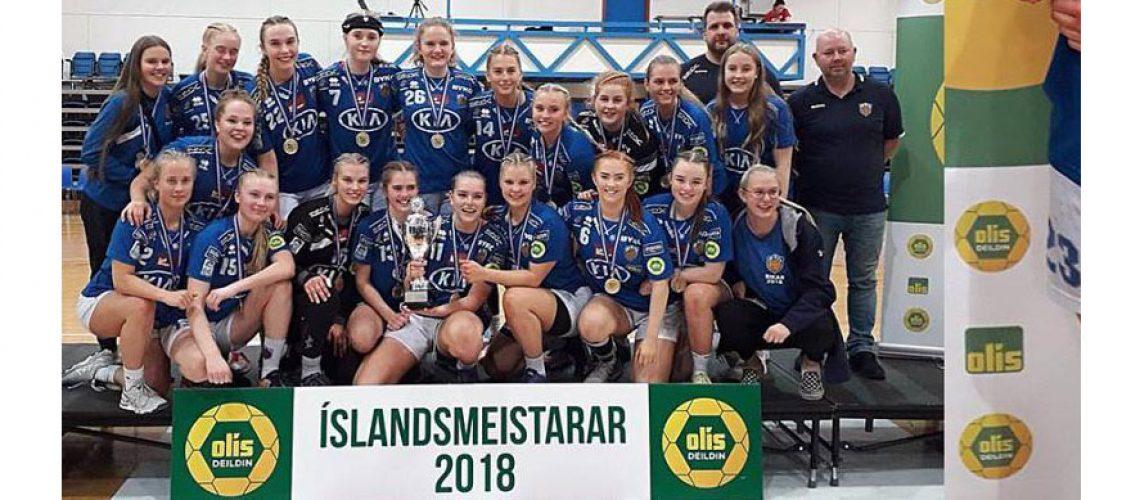 FRAM Íslandsmeistarar 2018 3.fl