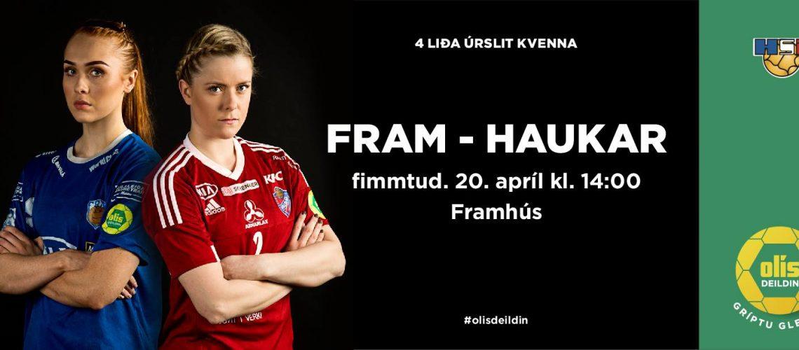 FRAM - Haukar kv. 1