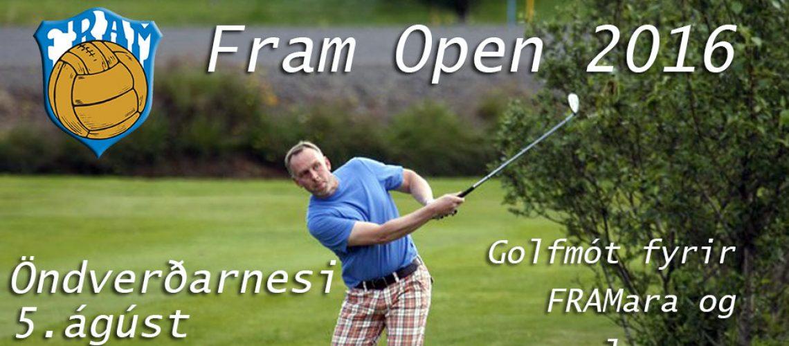 FRAM Open 2016 vefur