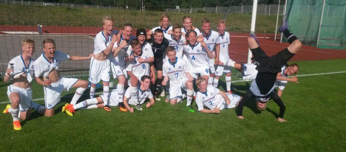 U-17 Ísland 2016 vefur